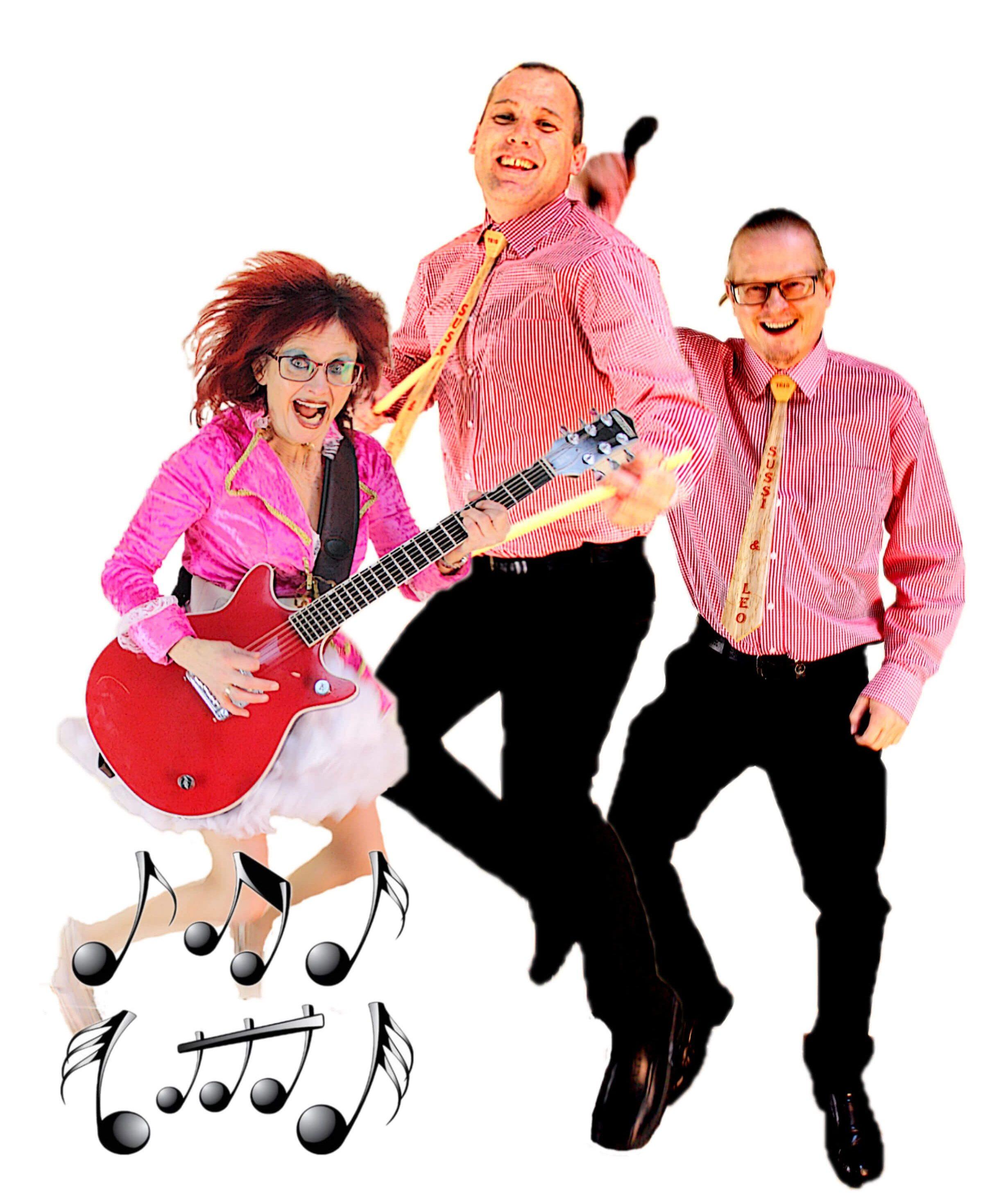 Sussi og Leo - som var første band i Skibbild-Nøvling - giver en 10 års jubilæumskoncert.